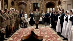 War comes to Downton Abbey