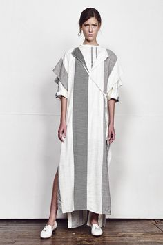 Ace & Jig Spring 2016 Ready-to-Wear Collection Photos - Vogue Runway Fashion, Fashion Show, Womens Fashion, Fashion Design, Arab Fashion, Fashion Ideas, Autumn Inspiration, Style Inspiration, Kimono