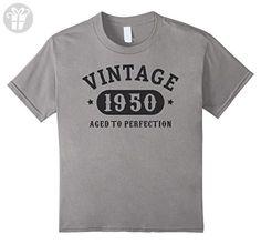 Kids 67 years old 67th Birthday B-day Gift 1950 T-Shirt 6 Slate - Birthday shirts (*Amazon Partner-Link)