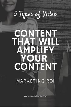 What types of video content can you add to your content marketing strategy to strengthen your return on investment (ROI)? This article presents the top 5 videos for your content strategy. Content Marketing Strategy, What Type, Business Advice, Digital Marketing, Investing, Presents, Social Media, Writing, Videos