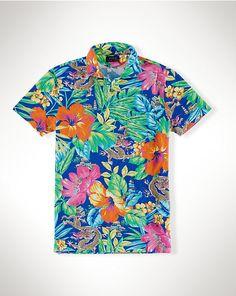 Featherweight Tropical Shirt - Standard-Fit  Casual Shirts - RalphLauren.com
