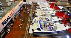 17ª edição do São Paulo Boat Show reúne barcos de luxo no Expo Center