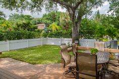 Well Landscaped and Maintained Outdoor Space
