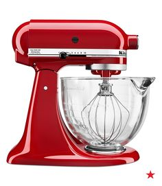 It's one of the top regitry items for a reason! Once you have a Kitchen Aid stand mixer you'll never know how you lived without one. It's your must-have tool for conquering every meal.