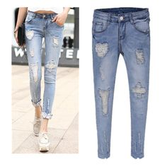 RIPPED JEANS FOR WOMEN – ACCEPTABLE? | Ellens Fashion