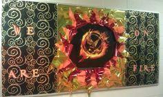 Hunger Games bulletin board