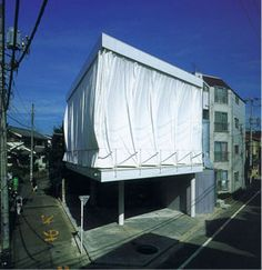 Architecture H - Articles - Shigeru Ban - Curtain Wall House - Tokyo - Function, seduction and poetry.