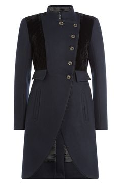 MARC BY MARC JACOBS Tailored Wool Coat. #marcbymarcjacobs #cloth #short coat