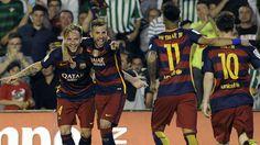 @fcbarcelona Ivan Rakitic y Luis Suárez se quitan la presión de encima #9ine