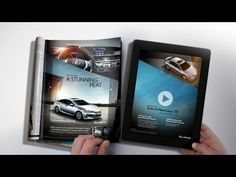 Lexus brings a Magazine to Life with CinePrint™