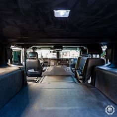 Room to spare. Hummer Cars, Hummer Truck, Hummer H1, Jeep Cars, Custom Jeep, Custom Cars, Hummer Interior, Custom Car Interior, Bug Out Vehicle
