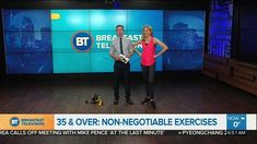 """35 or older? These 4 exercises should be considered """"non negotiable"""". Breakfast Television. Feb 2018"""
