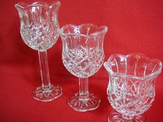 Homco Tulip Candle Holders set of 3  Home by Kleymannscloset, $12.99