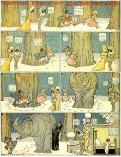 Little Nemo in Slumberland: Complete 1907 Sunday Features!   Mars ...