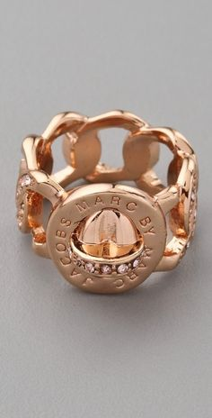 Marc By Marc Jacobs Pave Katie Ring thestylecure.com
