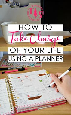 Using a Planner to Take Charge of your Life - Organize your goals & to-dos, then sit back and relax! @ www.thriveorsurvive.us