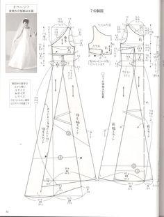 hướng dẫn cắt may váy maxi #3