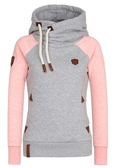 NAKETANO Damen Reorder Sweatshirt für Damen Blau Regular