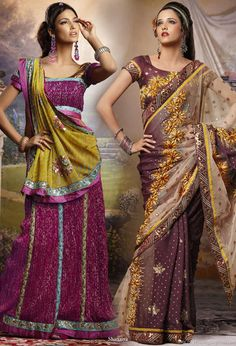 Color Inspriation  Colorful wedding inspiration - Indian wedding saree from UK based bridal house