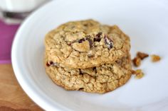 Healthy Oatmeal Chocolate Chip Cookies | Mel's Kitchen Cafe