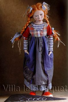 poupée d' artiste Zwergnase Collection 2008