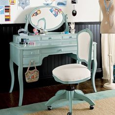 pottery barn teen, charlotte blue. so pretty I hope PB brings back this color