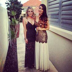 Annabel & Jas looking stunning in Shona Joy + Rachel Gilbert x