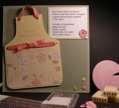 Apron recipe card by skissunshyn - Cards and Paper Crafts at Splitcoaststampers