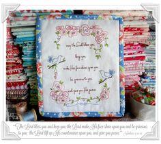 Jenny of ELEFANTZ: Blessing others (with free stitchery)...