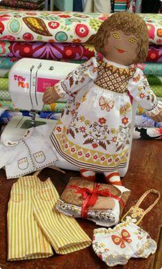 Clothkit doll, loved mine so much.