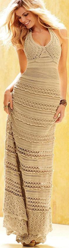#style #fashion Me gusta mucho esta solera, sobre todo la terminación del busto, es muy prolija y sensual.
