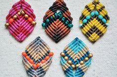 Beaded Buddha Earrings por AMiRAjewelry en Etsy
