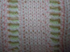 Learn how to knit the open work ladder stitch with free knitting pattern from Craft Elf. Knitting Stitches, Free Knitting, Knitting Patterns, Ladder Stitch, Learn How To Knit, Jumpers, Knitting Projects, Crocheting, Stitch Patterns