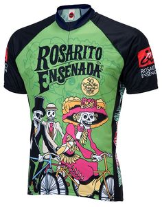 Maillot Rosarito Day of the Dead Cycling Clothing e0e429145