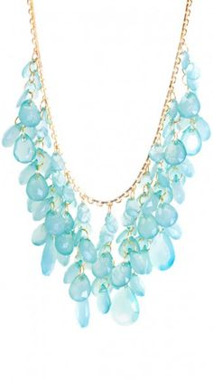 Chelsea Necklace - Turquoise >> Oh, but this one is super pretty too!!