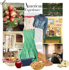 """american woman"" by sherieme on Polyvore"
