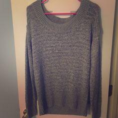 Victoria's Secret SMALL gray sweater Victoria's Secret SMALL gray sweater. Worn maybe twice. Victoria's Secret Sweaters