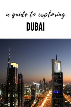 Everything you need to see and do during a long layover in Dubai: http://www.sevencontinentssasha.com/one-day-in-dubai-the-perfect-itnerary/