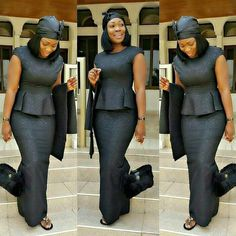 kaba and slit for funeral