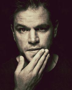 Matt Damon by Nigel Parry