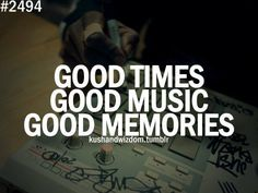 The best memories always have a soundtrack.