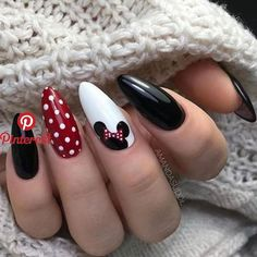 disney nail designs Discovered by ANONIMA. Find images and videos about style, girls and nails on We Heart It - the app to get lost in what you love. Disney Nail Designs, Fall Nail Art Designs, Acrylic Nail Designs, Nails Design Autumn, Acrylic Nails With Design, Cartoon Nail Designs, Girls Nail Designs, Simple Nail Designs, Acrylic Art