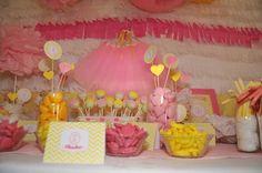 Mesa dulce comunión Lucía
