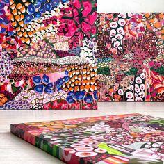 Jump Over, Abstract Art, Bloom, Joy, Babies, Quilts, Group, Artist, Instagram