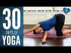 Day 4 - Yoga Has Your Back - 30 Days of Yoga - YouTube