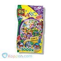 SES Strijkkralen, parelmoer 3000 stuks -  Koppen.com