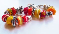 French Marigolds from a UK collector on Trollbeads Gallery. Join us for inspiration! www.trollbeadsgalleryforum.ning.com