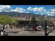 HD timelapse video of clouds over Pikes Peak and the Front Range and of foot and car traffic on West Colorado Ave in Old Colorado City.  From the office window  |  BombBomb Video Email Marketing Software: www.BombBomb.com