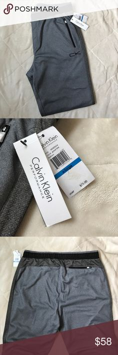 Calvin Klein Performance Sweatpants Bought these for my cousin but they didn't fit! Brand new! They were 15% off when I bought them which is reflected in my price! Calvin Klein Pants Sweatpants & Joggers