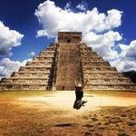 izajaramillo de visita en Chichén Itzá, México. #XichenTours #Mayas #TravelMexico